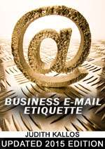 Business E-mail Etiquette eBook 2015 Edition