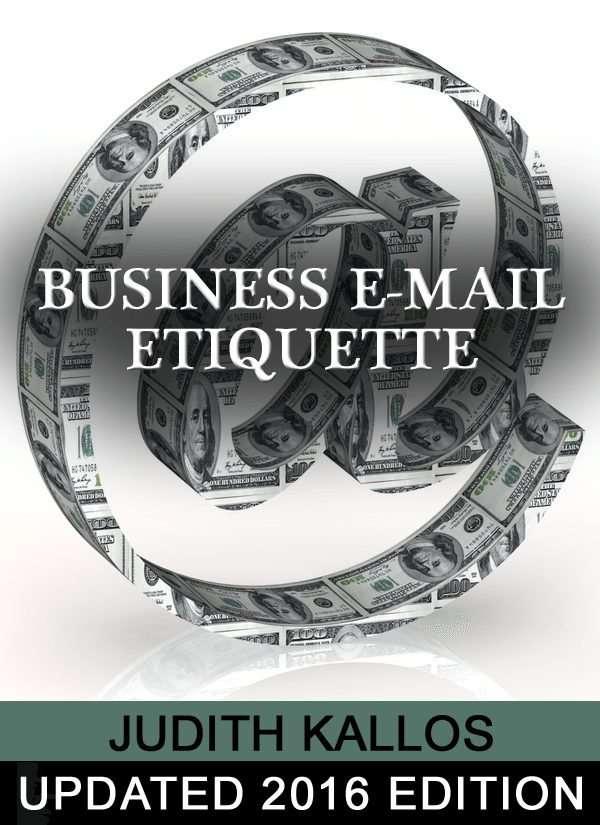 Business E-mail Etiquette eBook 2016 Edition