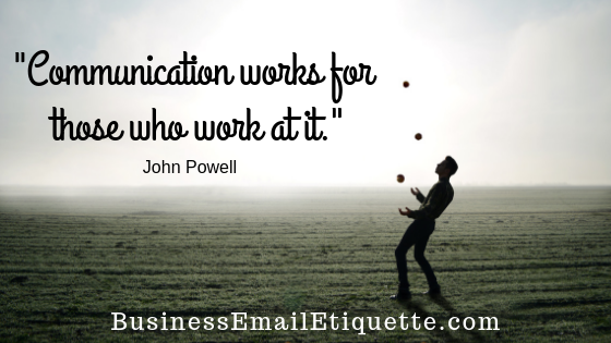 Practice your email communication skills!