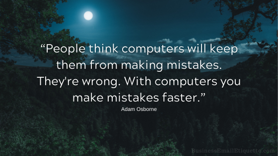 Own up to your online mistakes with grace.